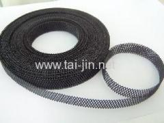 Manufacture of Ir-Ta Oxide Coated Mesh Ribbon