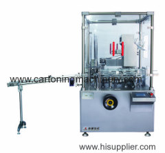 Automatic cartoner for tray