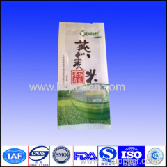 25kg durable rice packing bag with tear notch