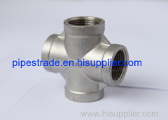 stainless steel mss sp-114 pipe fittings-cross