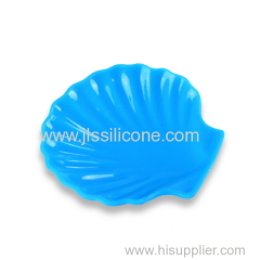 Unique Design Silicone Sushi Plates with shell-shaped design