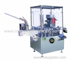 Cartoner machine for sachet