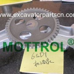 6SD1 OIL PUMP FOR EXCAVATOR