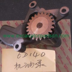 6D140 OIL PUMP FOR EXCAVATOR