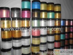 Pearlescent Pigment,gold metalline effect pigment