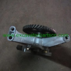 6D15 OIL PUMP FOR EXCAVATOR