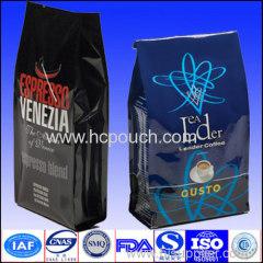 Aluminum Foil Side Gusst for Tea Bag in Black Colour