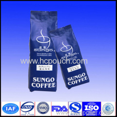 Heat seal side gusst Aluminum foil coffee bags