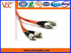 FC/PC to FC/PC multimode optical fiber patch cord