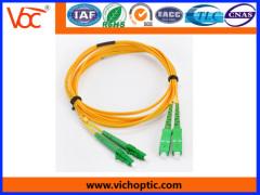 LC-SC APC duplex network optical fiber patch cord