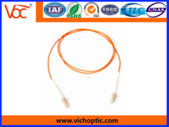 LC-LC multimode fiber optic network patch cord