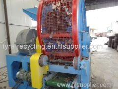 Scrap Tyre Shredder Machine for sale