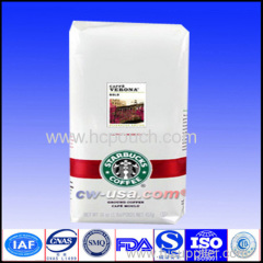 cheap flat bottom foled bottom back seal stand up coffee gusst bags
