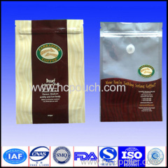 Customs Printed Colorful Coffee Bean Bag With Degassing Valve In Side Guess Style