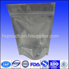 stand up foil mylar bags