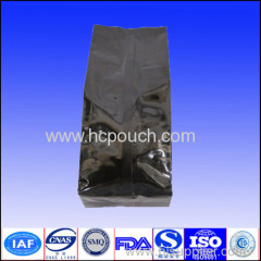 Laminated side gusset back seal gusst coffee bags with valve