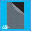 Black 0.6mm self adhesive pvc inner sheet for photo album
