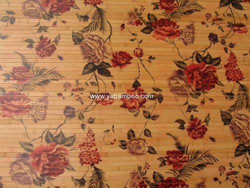Printing Bamboo wall Covering