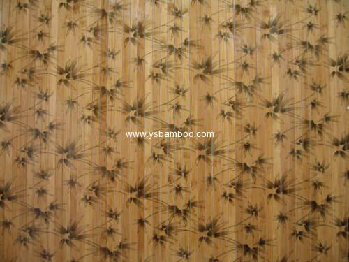 bamboo print pattern wallpaper