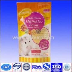 Reclosed zip lock side gusset plastic bags for food