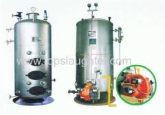 Vertical Steam Boiler 0.3 and 0.4 Ton