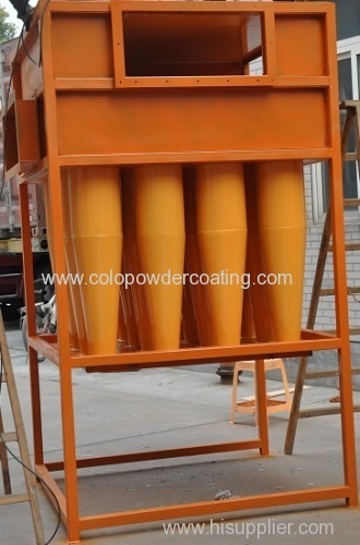 powder coating cyclone separator