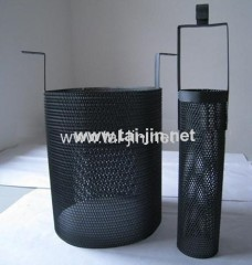 High Purity MMO Coated Titanium Mesh Basket Anode