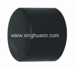 HDPE plastic fittings PE butt welding end cap