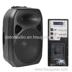 12-inch full range plastic molded PA sound box Professional Speaker