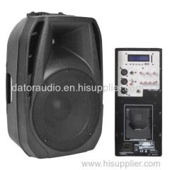 12-inch full range plastic mold PA speaker box Professional Speaker