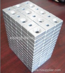 Rare Earth N35 Zinc Neodymium Block Magnets size 12X6X4-D3mm
