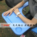 Convinient & Reliable Folding Lecture Chair with Writing Tablet multifunction