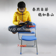 Convinient & Reliable Folding Church Lecture Chair handy and Easy-moving Conference Chair