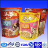 stand up pet food bags with zipper top