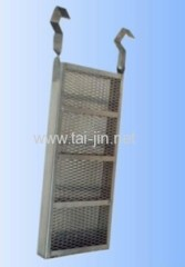 High quality titanium anode baskets used for electroplate