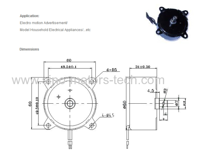 Permanent Magnetizable Synchronous Motor Manufacturer