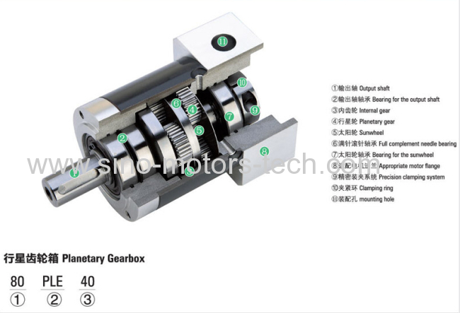 Dc planetary geared motor snm042 manufacturer from china for Dc planetary gear motor