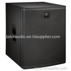 18-inch bass subwoofer stage speaker Professional Loudspeaker System