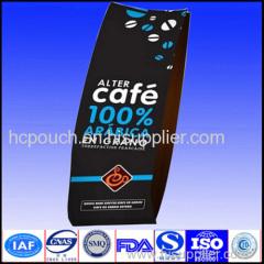 side gusset coffee package bag