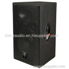 12-inch Two-way Carpeted Cabinet Speaker Pro Loudspeaker System