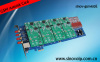 Voip 4 port pci express interface asterisk card for telephony