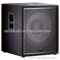 18-inch compact subwoofer PA Stage Speaker Pro Audio Speaker