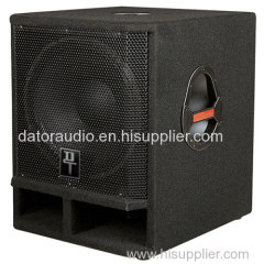 18-inch Two-way Black Carpet Stage Subwoofer Pro Audio Speaker