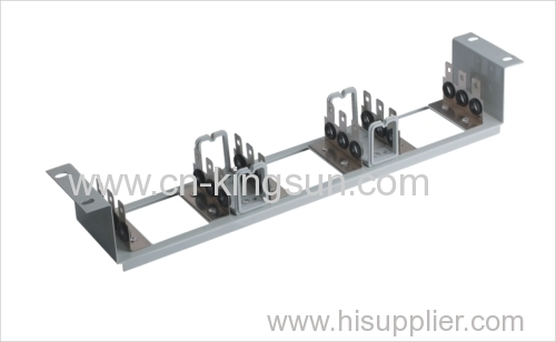 "back mount frame for 10 pairs LSA module 19"" rack"