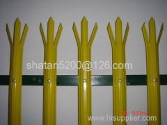 Powder Coated Steel Tubular Palisade Fencing