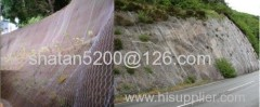 Zinc aluminum alloy steel wire gabion box for flood protective