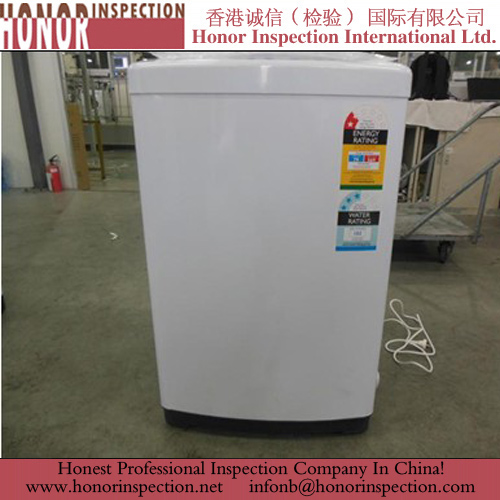 Pre Shipment Inspection for Washing Machine