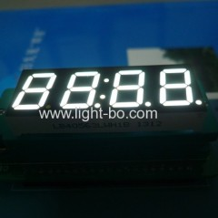 "white 4 digit 7 segment led disply; white 0.56"" led clock display;"