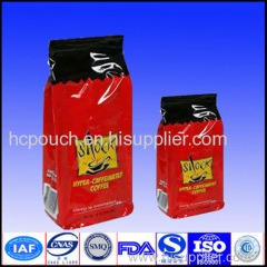 sealed valve coffee bag