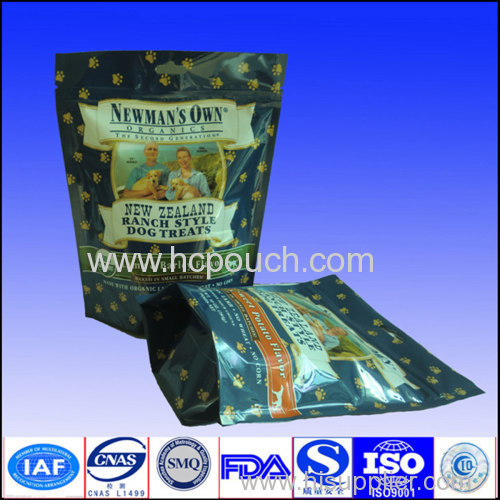 Hot sell plastic! Free stand up pouching bag
